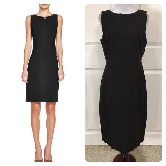 Theory Womens Alwata Dress Black - Dresses